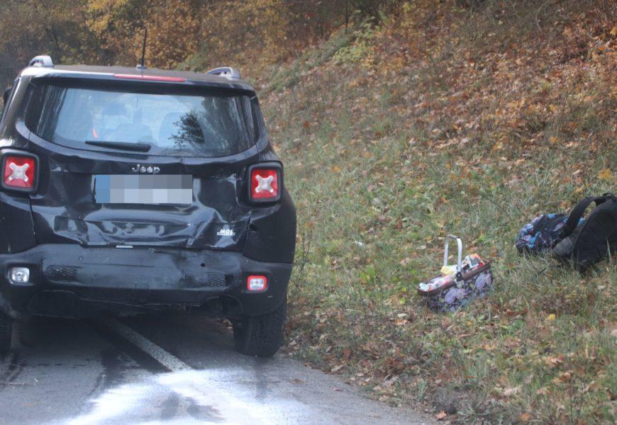 Verkehrsunfall mit Verletzten auf der B20 bei Höfen