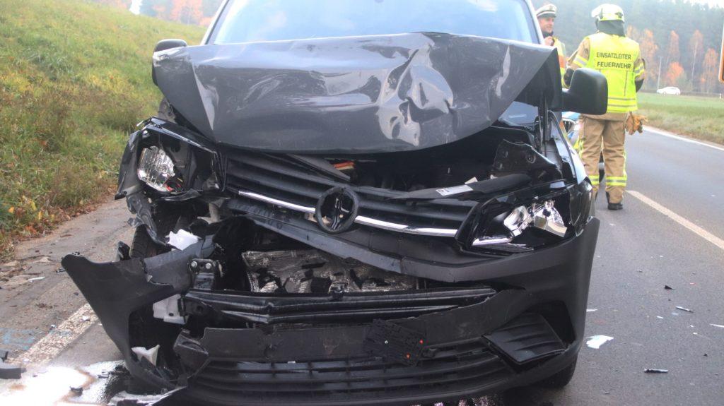 verunfalltes Auto
