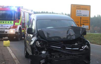 Unaufmerksamkeit führt zu Verkehrsunfall