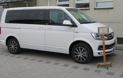 sichergestellter VW-Bus
