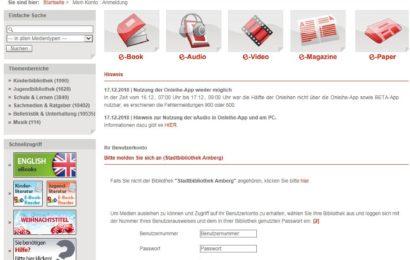 Onleihe - Screenshot