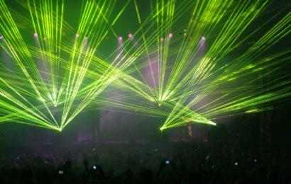 Durch Laser geblendet