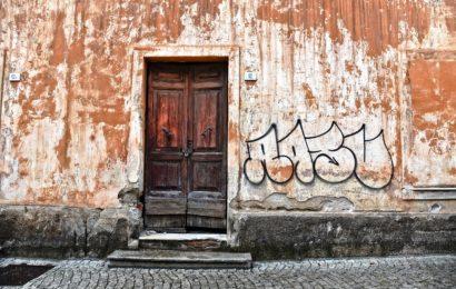 Graffiti an Königsteiner Schule