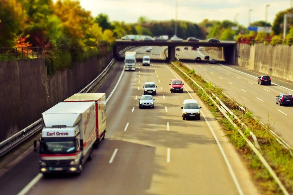LKW Autobahn
