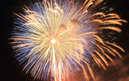 Feuerwerk in Regensburg abgebrannt