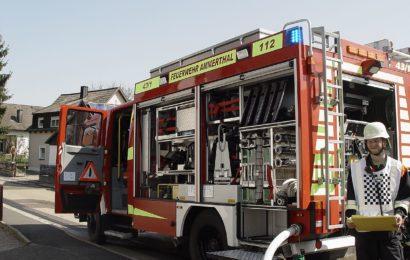 Brand eines Wohnhauses / Garage in Traßlberg