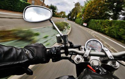 Verkehrsunfall mit verletzten Motorradfahrer
