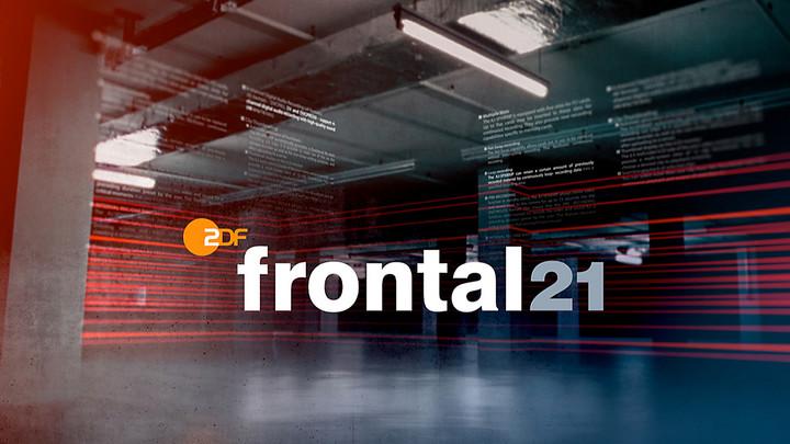 Frontal 21 Copyright: ZDF/Corporate Design
