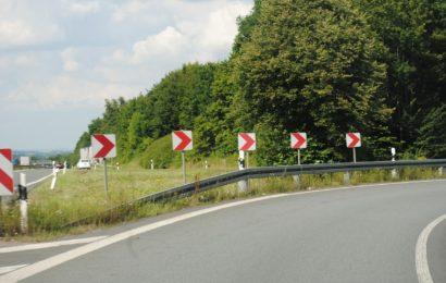 Teilsperrungen der Anschlussstelle Schwandorf-Mitte auf der A93