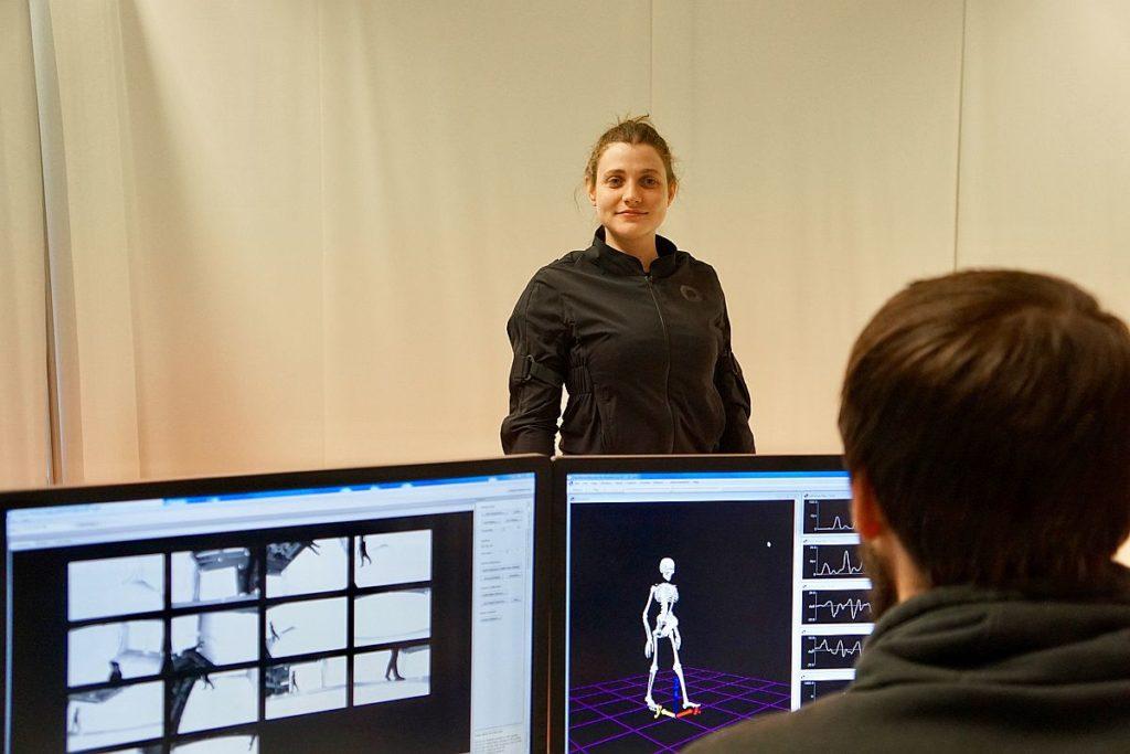 Biomechanik gehört zu den wichtigsten Forschungsgebieten der OTH Amberg-Weiden. Foto: Seidl/OTH Amberg-Weiden