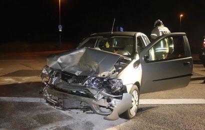 Verkehrsunfall beim Linksabbiegen
