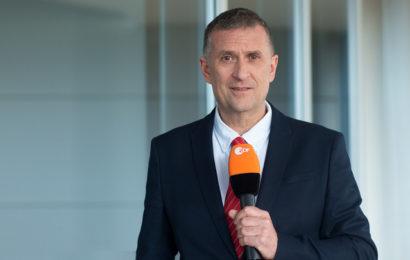 Jörg Brase, Leiter des ZDF-Studios in Istanbul Copyright: ZDF/Ralph Orlowski
