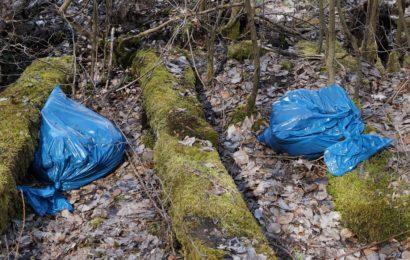 Illegale Müllablagerung in Cham