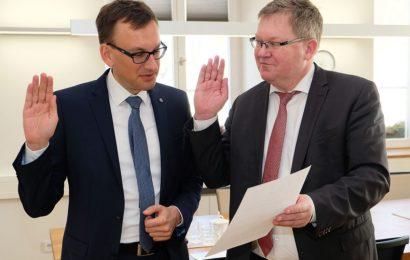 Jens  Wein neuer Leiter des Amberger Finanzreferats
