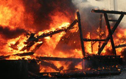 Brandfall im Kaulbachweg in Regensburg – Belohnung ausgesetzt