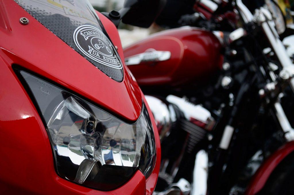 Motorräder Symbolbild: Pixabay