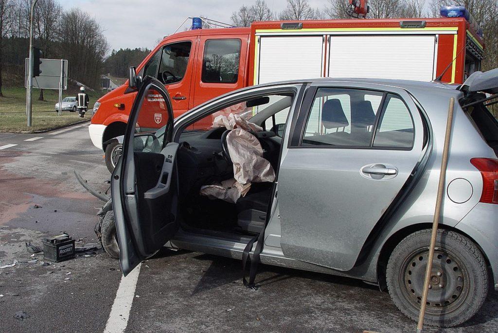 Unfall an der Kreuzung B85 / B14 Symbolfoto: Pressedienst Wagner