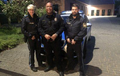 Amberger Polizei und Military Police gemeinsam auf Streife