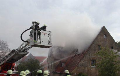 Brand eines Wohnhauses mit Nebengebäuden im Lkr. Cham – 1. Nachtrag
