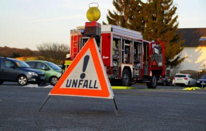 Schadensträchtiger Verkehrsunfall
