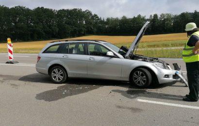 Verkehrsunfall auf der B85 bei Schäflohe