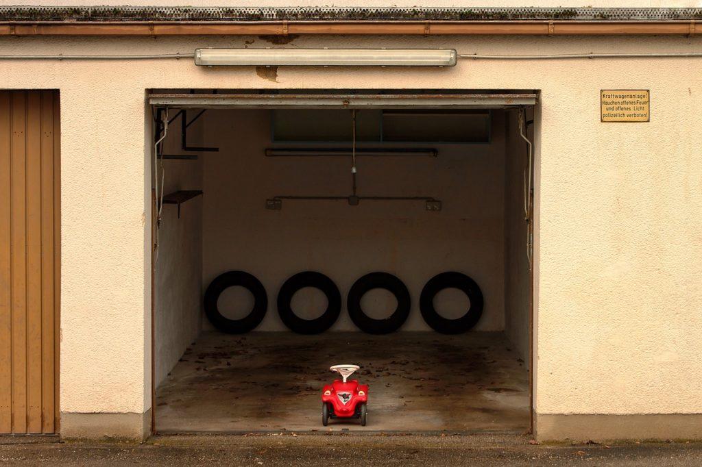 Symbolbild Garage