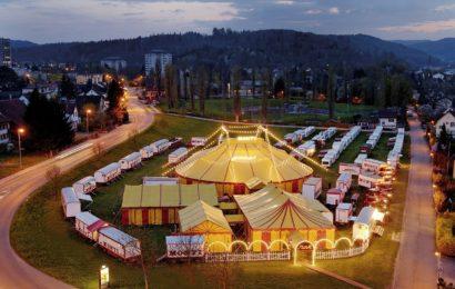 Fünf Auflieger eines Zirkus entwendet