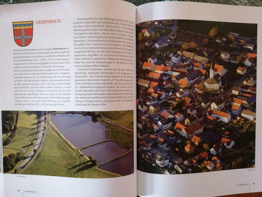 Gebenbach von  oben Foto: Pressedienst Wagner (c) Buch- und Kunstverlag