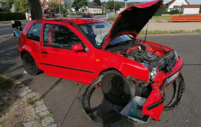 Zwei Verletzte nach Verkehrsunfall
