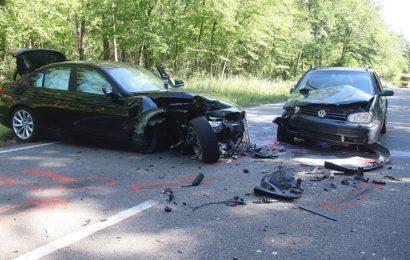 Schwerer Verkehrsunfall zwischen Amberg und Hirschau