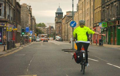 Fahrradfahrer unter Drogeneinfluss versucht zu flüchten