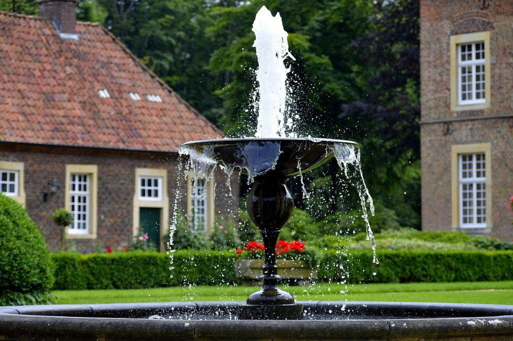 Symbolbild: Springbrunnen