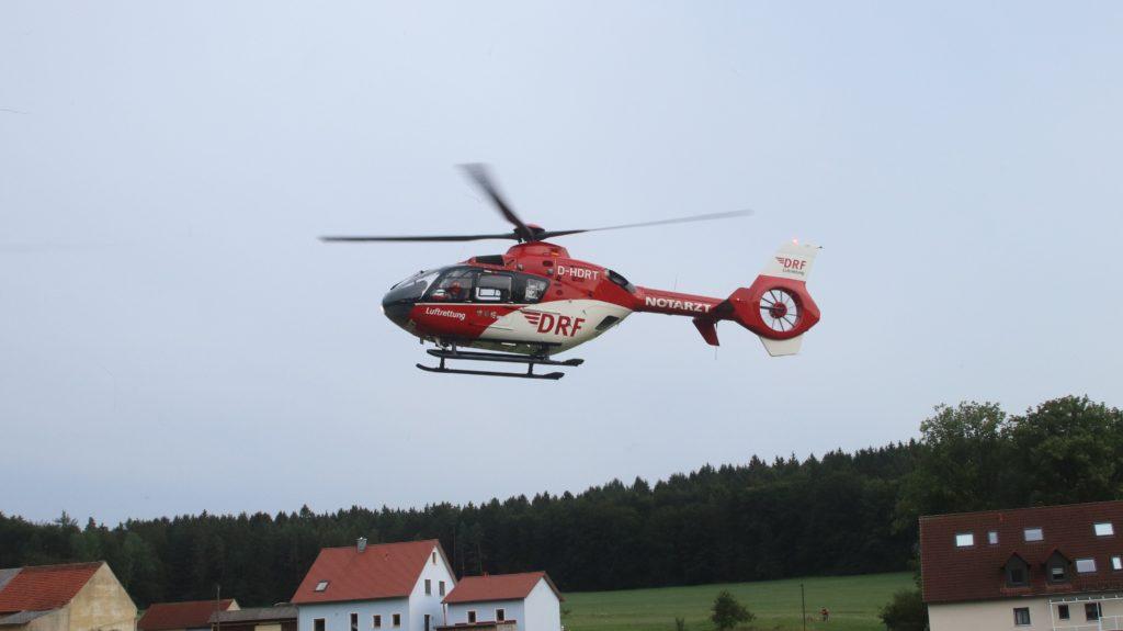 Rettungshubschrauber der DRF Foto: Pressedienst Wagner