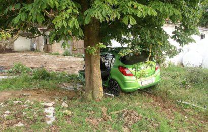 Unfall in Einsricht Foto: Pressedienst Wagner