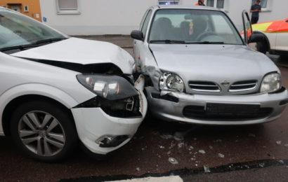Unfälle durch Vorfahrtsmissachtung