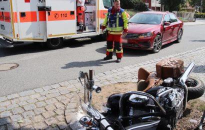 Schwerer Motorradunfall in Grafenwöhr