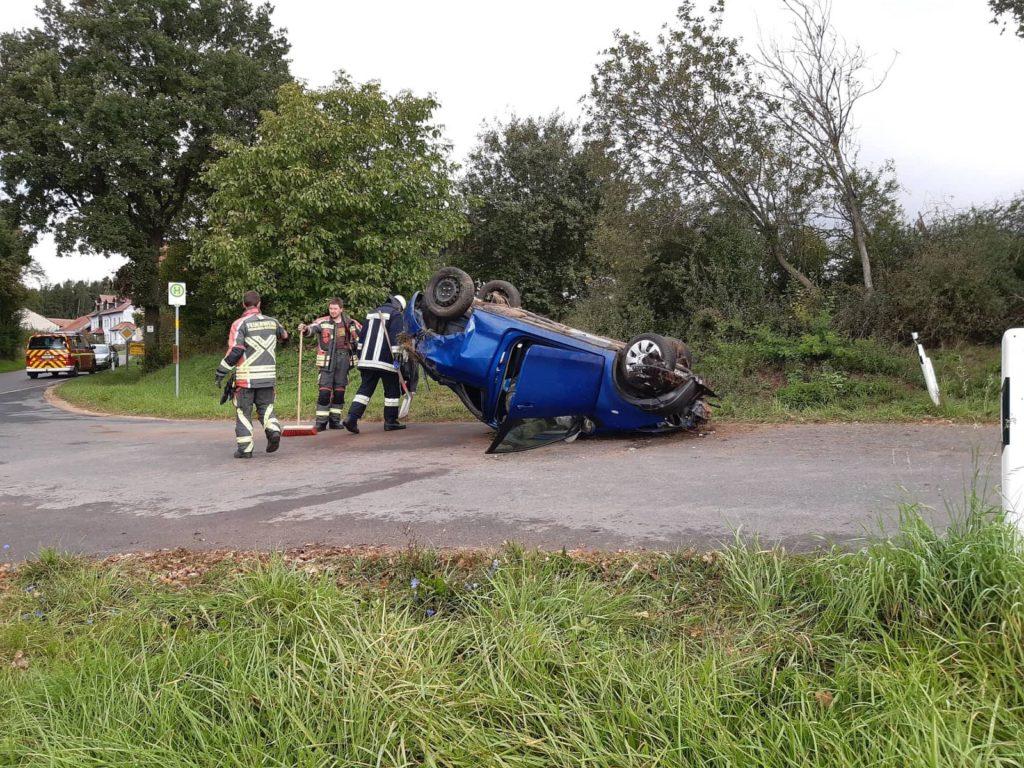 Tödlicher Verkehrsunfall bei Unterpennading Foto: Pressedienst Wagner