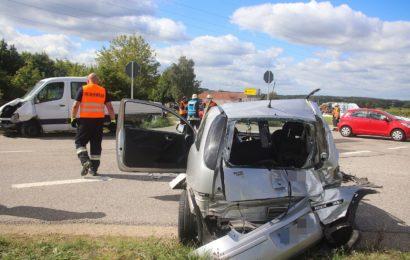 Unfall mit verletzter Person in Pfreimd