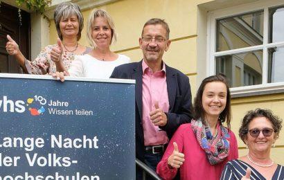 """VHS  Amberg lädt ein zur """"Langen Nacht der Volkshochschulen"""