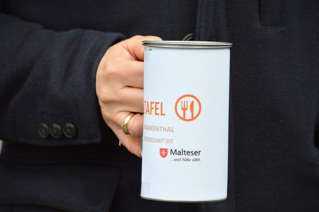 Symbolbikld: Spendenbox
