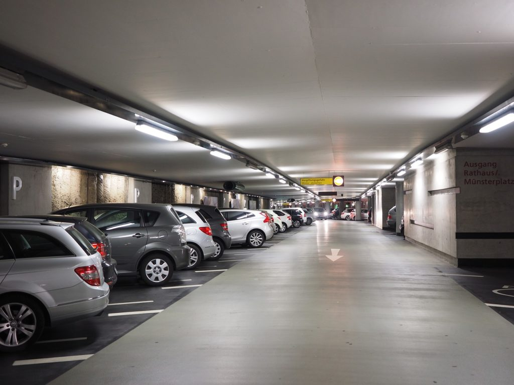 Symbolbild: Parkhaus