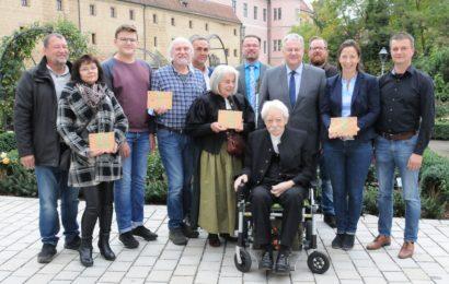 Von Auerbach bis Schmidmühlen – 4x Grüne Hausnummer für umweltfreundliches Bauen