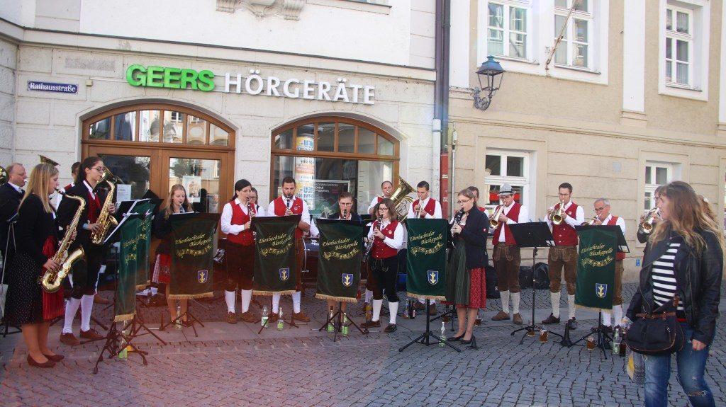 Blasmusik auf der Luftklangmeile Foto: Pressedienst Wagner
