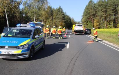 Verkehrsunfall mit Personenschaden bei Holnstein
