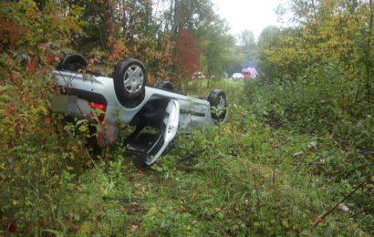 Am Renault Clio entstand bei dem Unfall Totalschaden Foto: Pressedienst Wagner