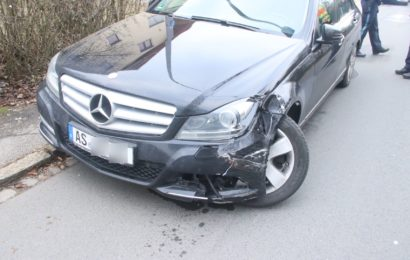 Verkehrsunfall aus gesundheitlichen Gründen