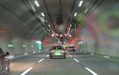 Verkehrsunfall im Pfaffensteiner Tunnel