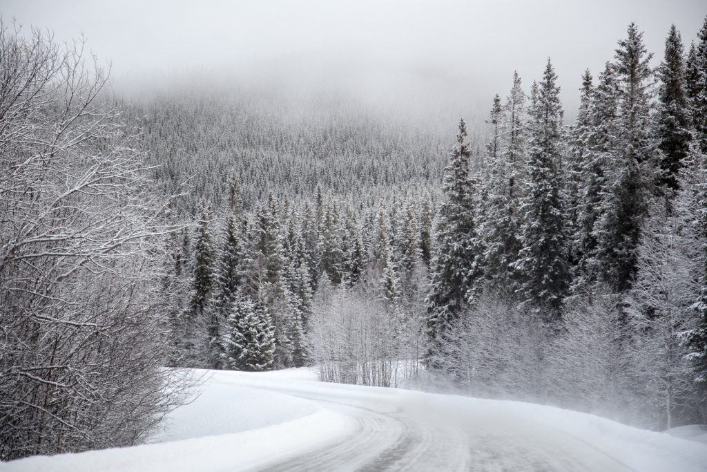 Symbolbild: Winterliche Straße