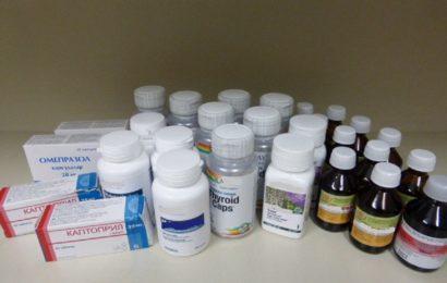Arzneimittel in Postpaketen