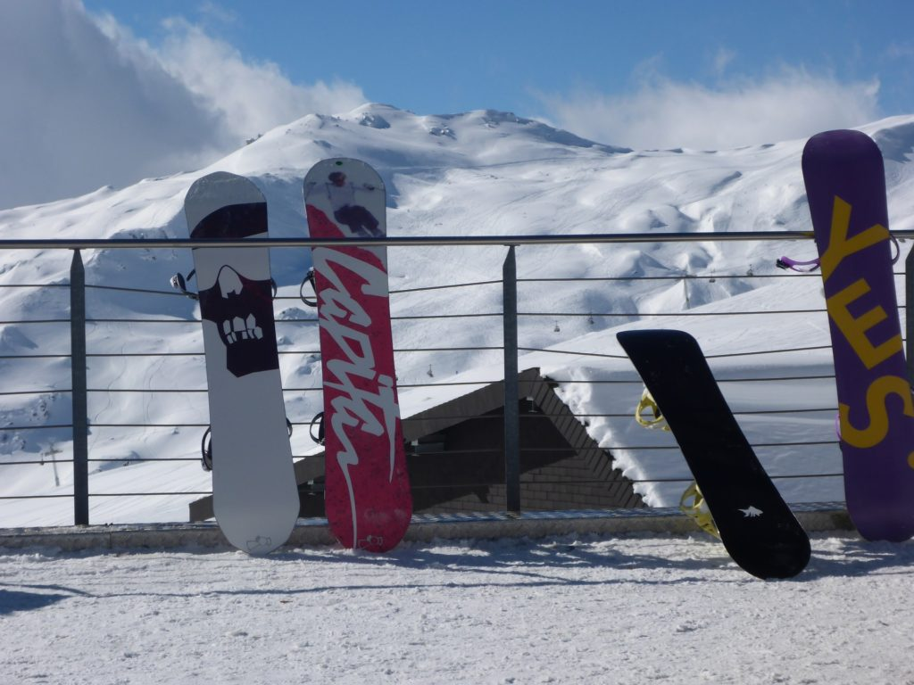 Symbolbild: Snowboards